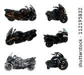 motorcycle | Shutterstock . vector #112195832
