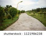 """eco park""  kolkata  india | Shutterstock . vector #1121986238"