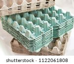 stack cardboard packaging for... | Shutterstock . vector #1122061808