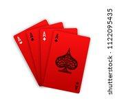 illustration online casino... | Shutterstock . vector #1122095435