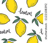 hand drawn colorful seamless... | Shutterstock .eps vector #1122108392