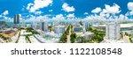 usa. florida. miami beach. june ... | Shutterstock . vector #1122108548