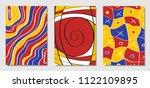 cover design templates set in... | Shutterstock .eps vector #1122109895