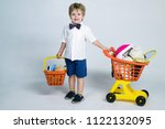 shopping  discount  sale... | Shutterstock . vector #1122132095