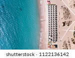 aerial view of amazing seaside...   Shutterstock . vector #1122136142