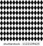 black rhombuses background. | Shutterstock .eps vector #1122139625