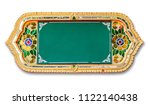 frame with thai style pattern... | Shutterstock . vector #1122140438