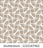classic art deco seamless... | Shutterstock .eps vector #1122167462