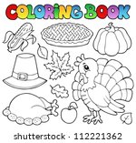 Coloring Book Thanksgiving...