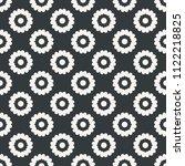flower seamless abstract... | Shutterstock .eps vector #1122218825
