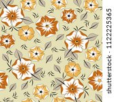 decorative seamless pattern...   Shutterstock .eps vector #1122225365