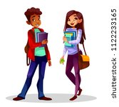 college or university students... | Shutterstock .eps vector #1122233165