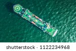 cable laying ship anchored in... | Shutterstock . vector #1122234968