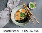 homemade japanese cuisine  ...   Shutterstock . vector #1122257456