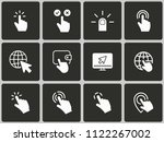 computer mouse click icons ...   Shutterstock .eps vector #1122267002