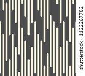 seamless striped design. modern ... | Shutterstock .eps vector #1122267782