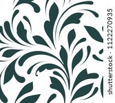 decorative floral pattern with... | Shutterstock .eps vector #1122270935