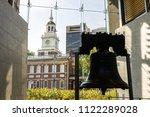 philadelphia  pennsylvania  ... | Shutterstock . vector #1122289028