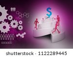 3d illustration of people...   Shutterstock . vector #1122289445