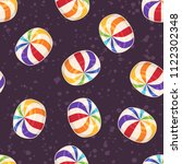 candies seamless pattern.... | Shutterstock .eps vector #1122302348