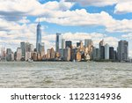 view from the water  from... | Shutterstock . vector #1122314936