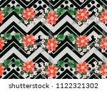 seamless ardent pattern in... | Shutterstock .eps vector #1122321302