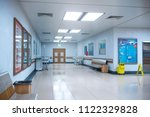 hallway the emergency room and...   Shutterstock . vector #1122329828