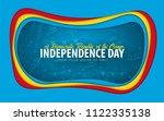 democratic republic of the... | Shutterstock .eps vector #1122335138