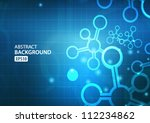 abstract technology background. ... | Shutterstock .eps vector #112234862