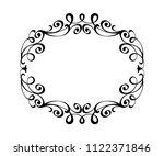 vector retro frames .vector... | Shutterstock .eps vector #1122371846