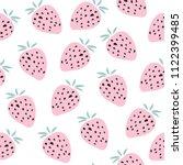 kids hand drawn summer seamless ... | Shutterstock .eps vector #1122399485
