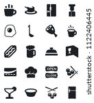 set of vector isolated black... | Shutterstock .eps vector #1122406445
