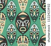 vector illustration. tribal... | Shutterstock .eps vector #1122423932