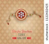 vector abstract for raksha... | Shutterstock .eps vector #1122432425