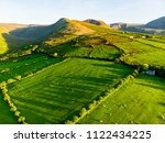 aerial view of endless lush... | Shutterstock . vector #1122434225