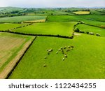 aerial view of endless lush... | Shutterstock . vector #1122434255