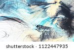 abstract bright motion... | Shutterstock . vector #1122447935