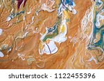 color flow from washing in the...   Shutterstock . vector #1122455396