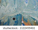 color flow from washing in the...   Shutterstock . vector #1122455402