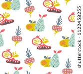 vector seamless pattern with... | Shutterstock .eps vector #1122458255