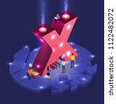 business concept teamwork of...   Shutterstock .eps vector #1122482072