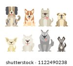 collection of different kinds... | Shutterstock .eps vector #1122490238