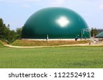 biogas production  anaerobic... | Shutterstock . vector #1122524912