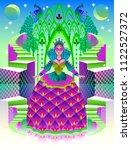 book cover for children's fairy ... | Shutterstock .eps vector #1122527372