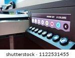 toner cartridge part large... | Shutterstock . vector #1122531455