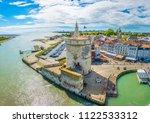 Small photo of Seaside of La Rochelle dominated by Tour de la Lanterne and tour de la chaine, France