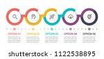 business infographic design... | Shutterstock .eps vector #1122538895