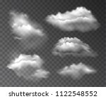 vector collection of realistic... | Shutterstock .eps vector #1122548552