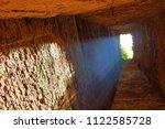 inside of sambor prei kuk... | Shutterstock . vector #1122585728