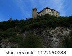 gutenberg castle in balzers... | Shutterstock . vector #1122590288